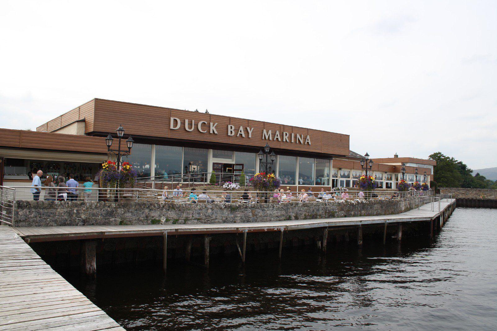 Duck Bay Marina >> Duck Bay Hotel Benoch Lomond Castle
