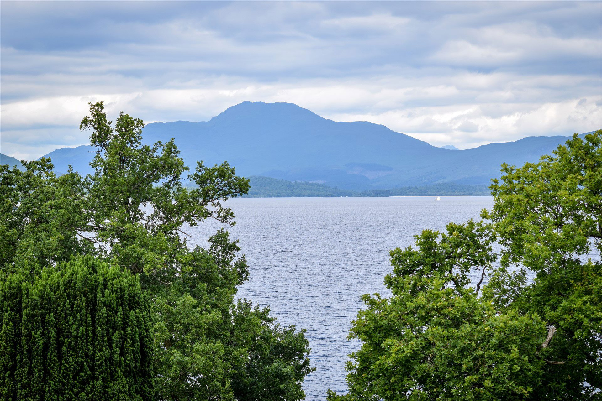 A walk in the grounds of Benoch Castle unveils delightful views of Loch Lomond