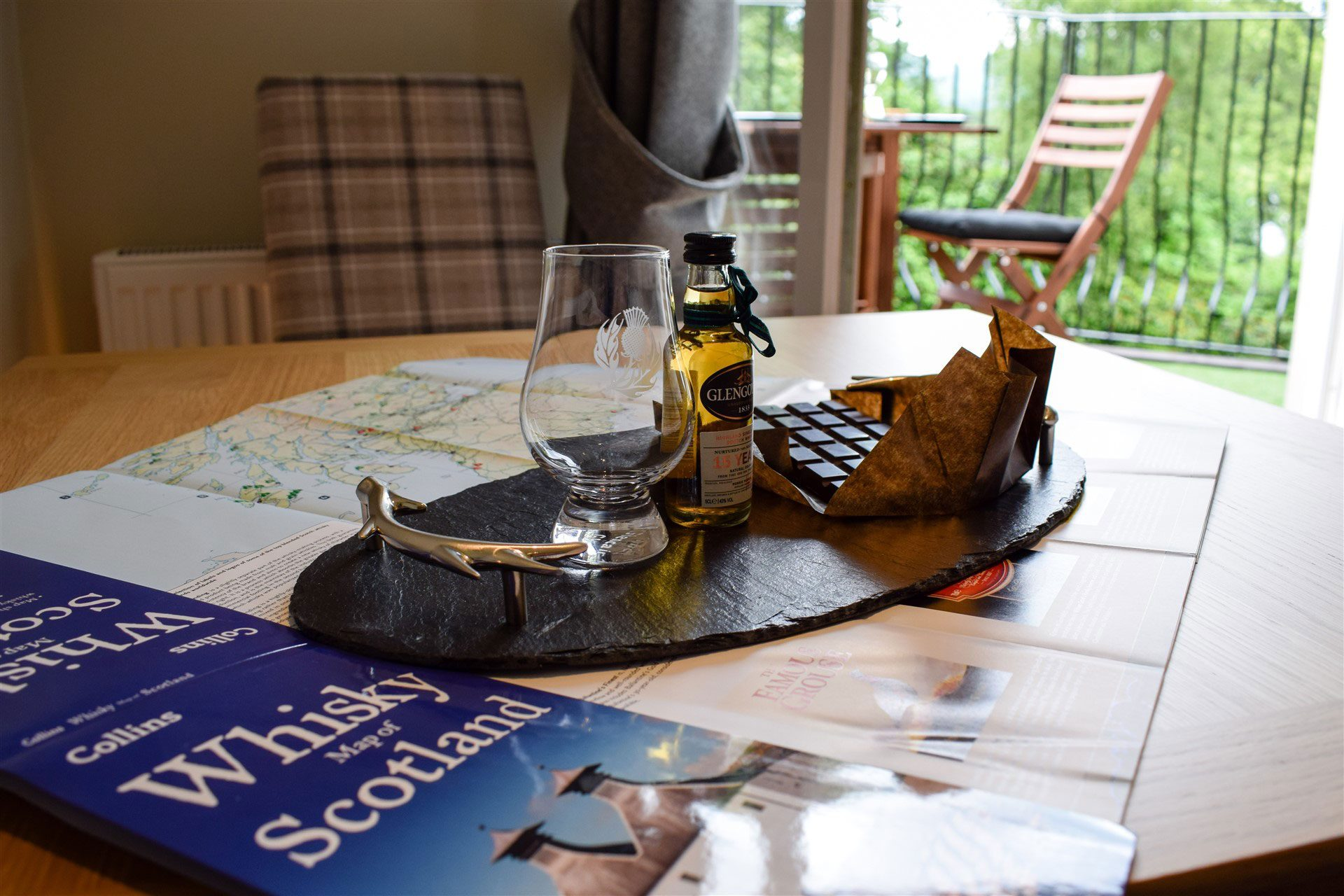 Benoch Luxury Self Catering Apartment is the perfect base for exploring whisky distilleries